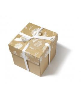 Białe pudełko prezentowe