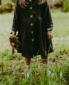 Bluza Płaszczyk z weluru (98-110)