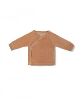 Bluza kopertowa z weluru