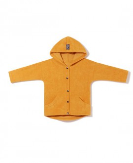 Terrycloth OVERSIZED HOODIE with snaps (92-110)