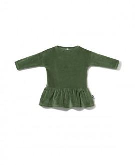 Sukienka OVERSIZE z weluru (98-110)