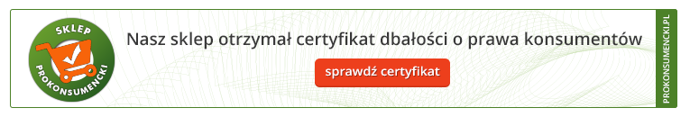 Certyfikat Prokonsumencki dla Coodo.pl